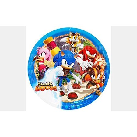 Personalized Round Bed - Sonic Hedgehog Boom Birthday Edible Image Photo 8