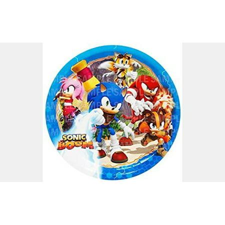 Sonic Hedgehog Boom Birthday Edible Image Photo 8