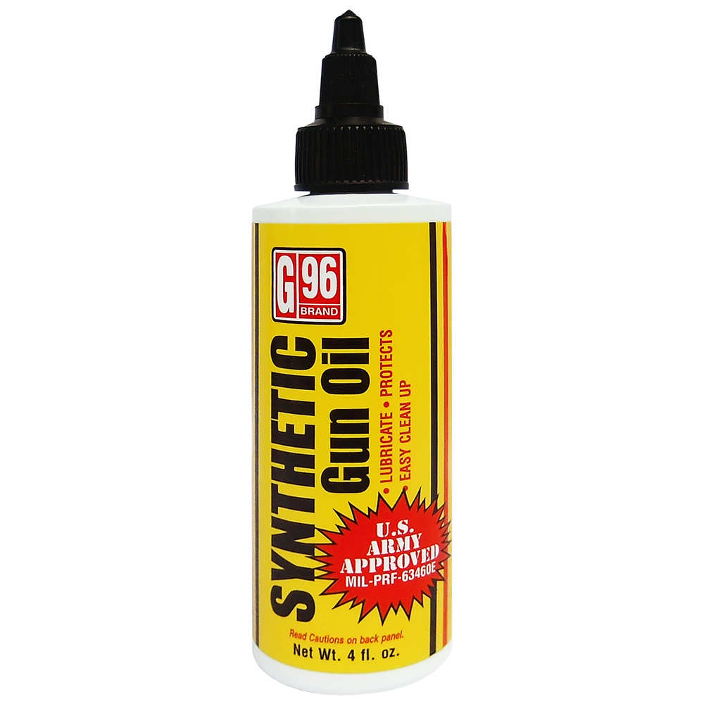 G96 SYNTHETIC GUN OIL LUBRICANT 4 OZ