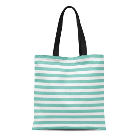 HATIART Canvas Bag Resuable Tote Grocery Shopping Bags Stripes Pattern Geometrical Simple Creative Luxury Gradient Label Emblem Summer Tote Bag - image 1 of 1