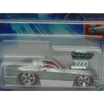 Mattel Hot Wheels 2004 First Editions 1:64 Scale Silver 1963 Tooned Corvette Die Cast Car
