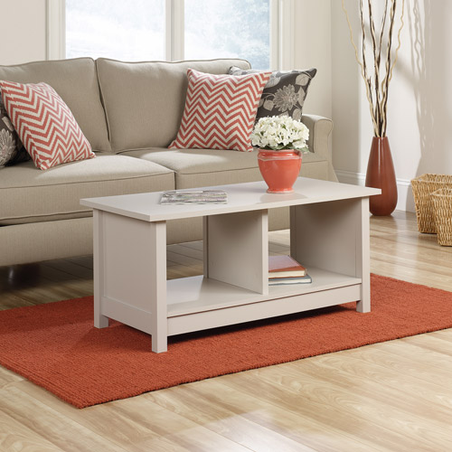 Sauder Original Cottage Collection Coffee Table, Cobblestone