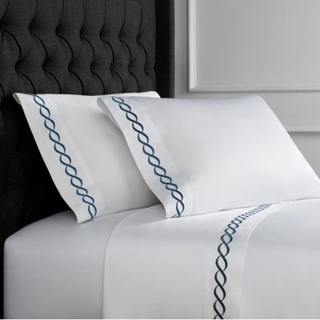 Longshore Tides Campana Embroidered 600 Thread Count Sheet Set