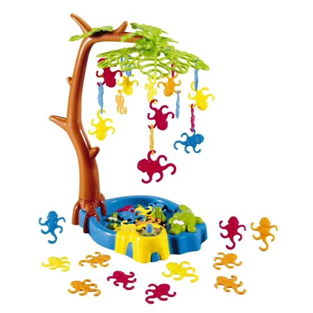 Game Zone - Monkeying Around - A Balancing Game with Monkeys Hanging in a Tree](Dollar Tree Halloween Game)