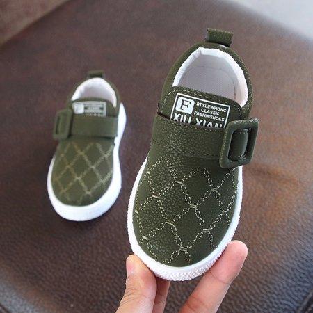 Army Skate (Children Toddler Baby Skate Sneaker Girls Boys Solid comfortable Soft Anti-slip Sport Shoes)