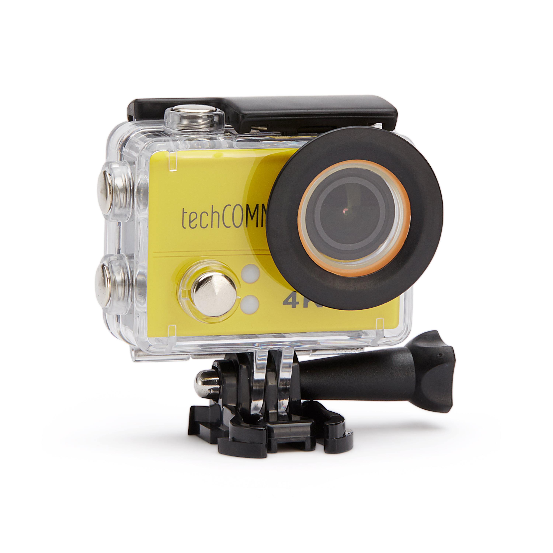 TechComm SPH10 Waterproof 4K 16MP Action Camera Sony IMX214 Sensor