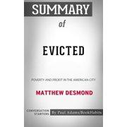 Summary of Evicted - eBook