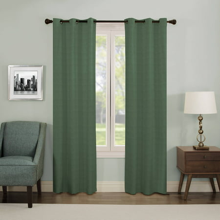 Eclipse Nottingham Thermal Energy-Efficient Grommet Curtain (Nottingham 2 Light)