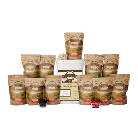 Freeze Dried Fruit And Vegetable Combo Bucket (Best Way To Store Dried Fruit)
