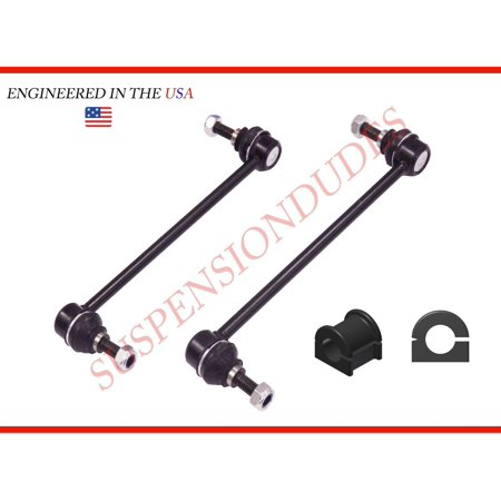4Pc Front Sway Bar Links + Front Bushings For Toyota Matrix 2003-2013