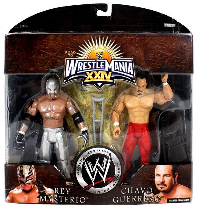 Rey Mysterio & Chavo Guerrero Action Figure 2-Pack WWE Wrestling