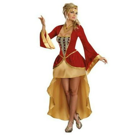 Royally Yours Queen Costume 8848 Dreamgirl Multi Color](Color Costume)