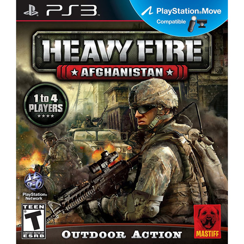 Move Heavy Fire Afghanistan (PS3)