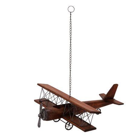 EC World Imports Weathered Replica Handcrafted Model Airplane