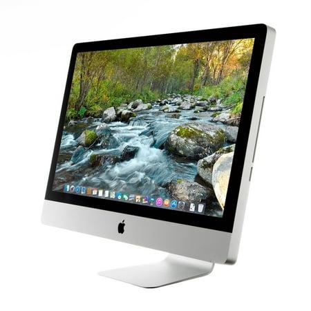 Apple Imac Mb953ll A Intel Core I5 750 X4 2 66Ghz 4Gb 1Tb 27  Silver  Refurbished