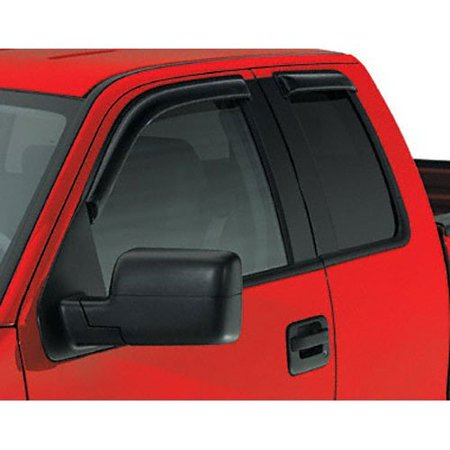 Trailfx 4101 Window Vent for Dodge RAM 1500 Quad (2011 Dodge Ram 1500 Slt Quad Cab)