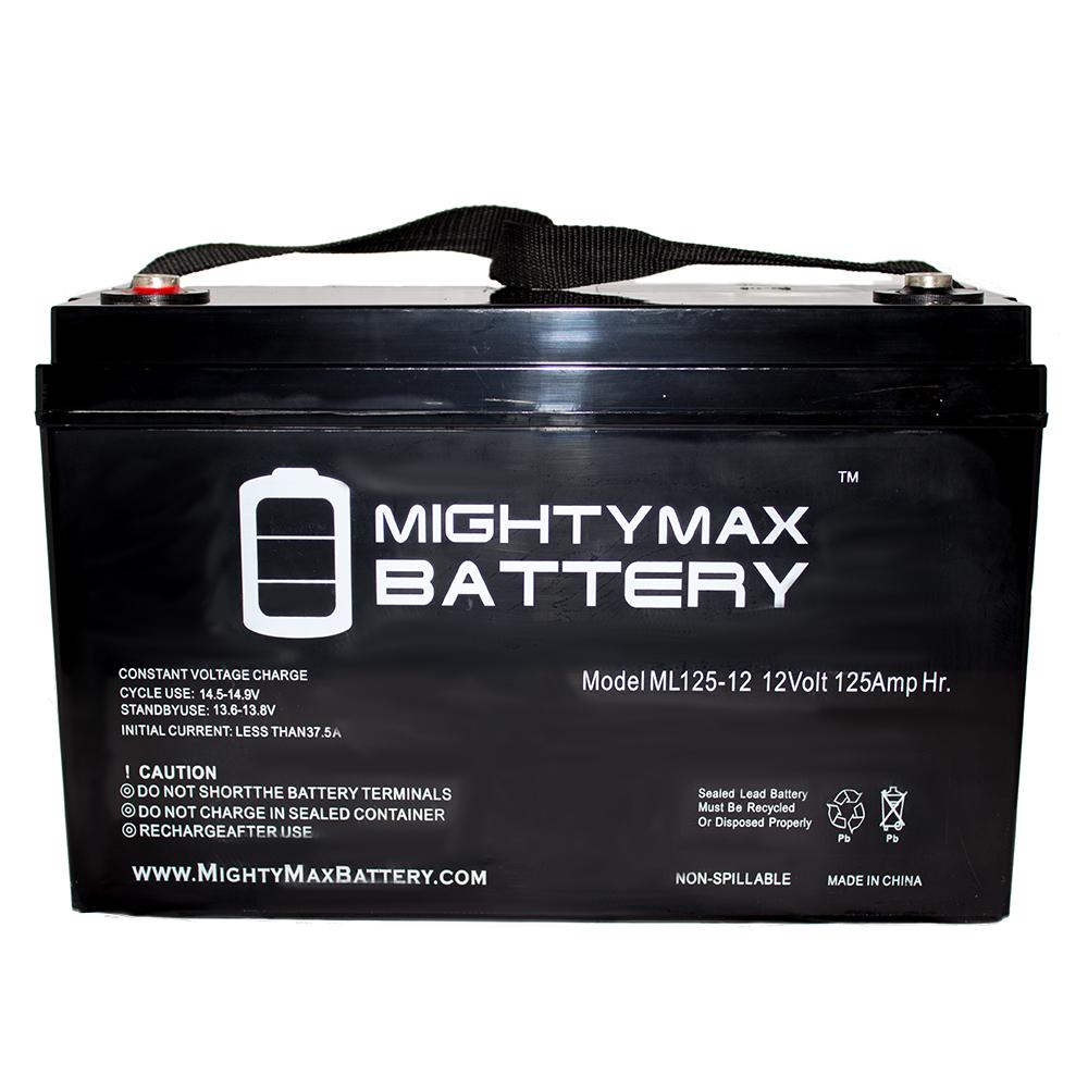 12V 125AH SLA Replacement Battery for Basement Watchdog 3...