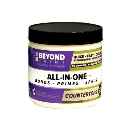 Beyond Paint 1631951 1 pint All-in-One Interior & Exterior Acrylic Countertop Paint -