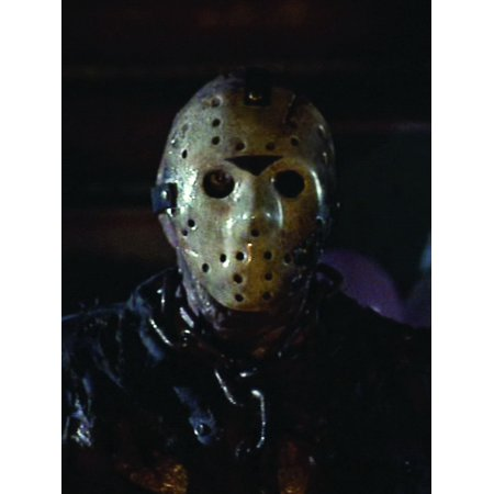Friday The 13Th Jason Window Cling Halloween Decoration - Friday Meme Halloween