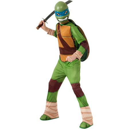 child ninja turtle leonardo costume by rubies 886755 - Ninja Turtles Costume