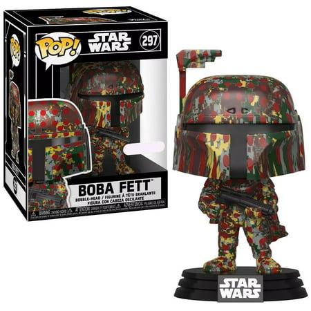 Funko POP! Star Wars Boba Fett Vinyl Bobble Head [Futura x] Bobble Head Collectibles