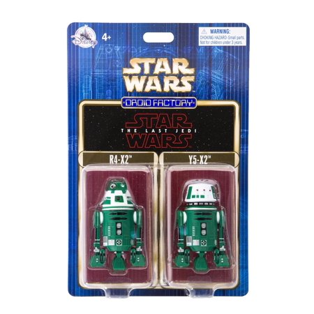 Disney Parks Star Wars R4-X2 & Y5-X2 Droid Factory New with Box