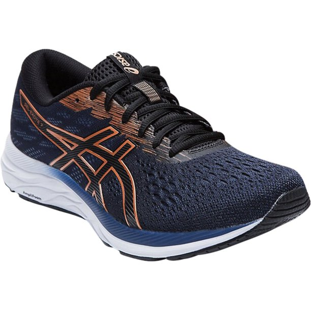 Men's ASICS GEL-Excite 7 Running Sneaker Black/Pure Bronze 6 D