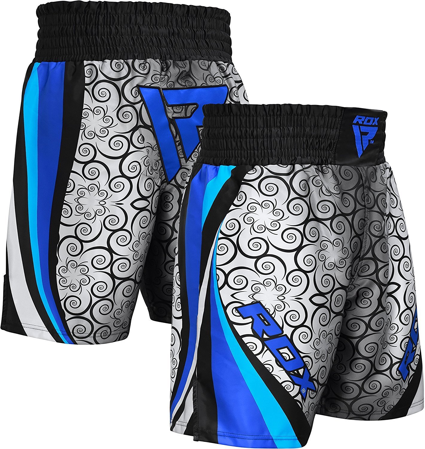 RDX MMA Boxing Shorts Training Fightwear Gym Red Blue