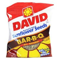 Product Of David, Sunflower Seeds B-B-Q , Count 12 (5.25 oz) - Sunflower Seeds / Grab Varieties & Flavors