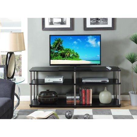 Convenience Concepts Designs2Go 3 Tier 60u0022 TV Stand, Black