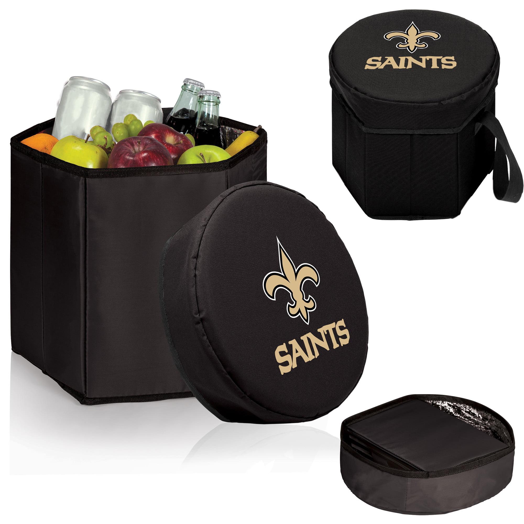 New Orleans Saints 12 Quart Bongo Cooler - Black - No Size