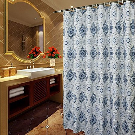 Extra Long Shower Curtain 78 Inch Long Fabric Shower
