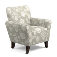 Homesvale Sugar City Arm Chair in Taupe Floral