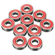 Wisremt 10PCS 608zz Skating Rolling Skateboard Longboard Wheel Skate Bearings Roller ABEC-9 ABEC-7 For Skate Shoes Scooter