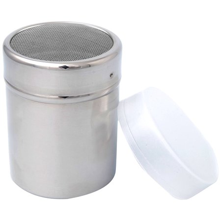 RSVP Stainless Steel Fine Mesh Powdered Sugar Shaker/Sifter Baking Pastry New