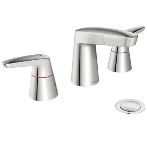 MOEN 9223F15 M-Dura Widespread Bathroom Faucet with Metal...
