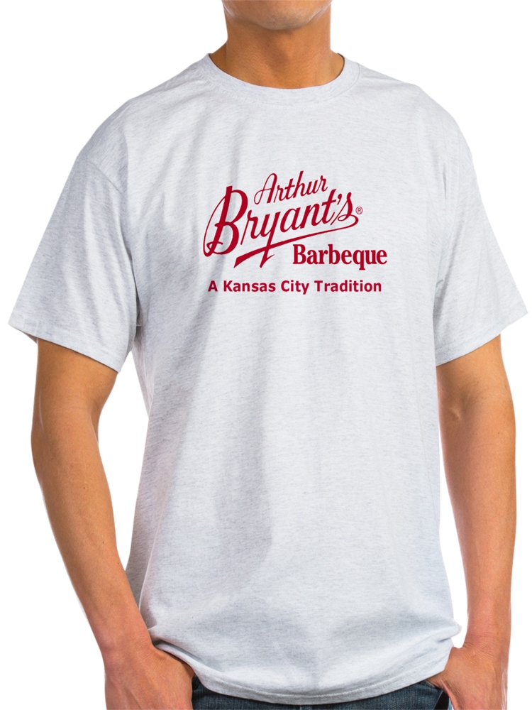CafePress - Arthur Bryant's Barbeque Ash Grey T-Shirt - Light T-Shirt - CP