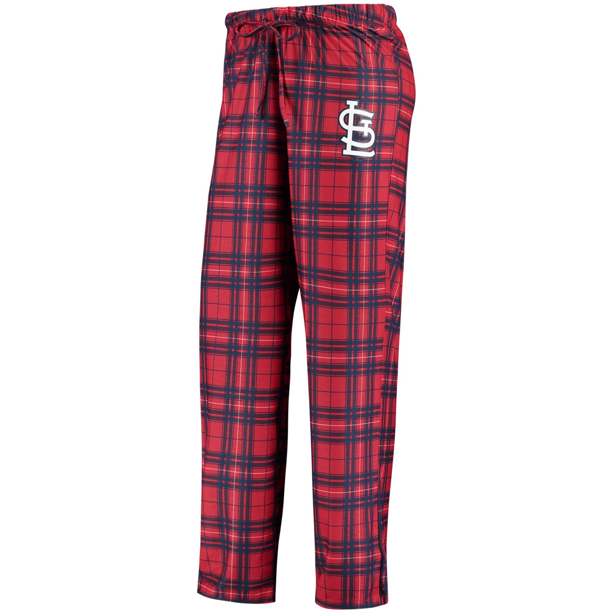 St. Louis Cardinals Concepts Sport Women's Plus Size Rush Knit Pants - Red/Navy