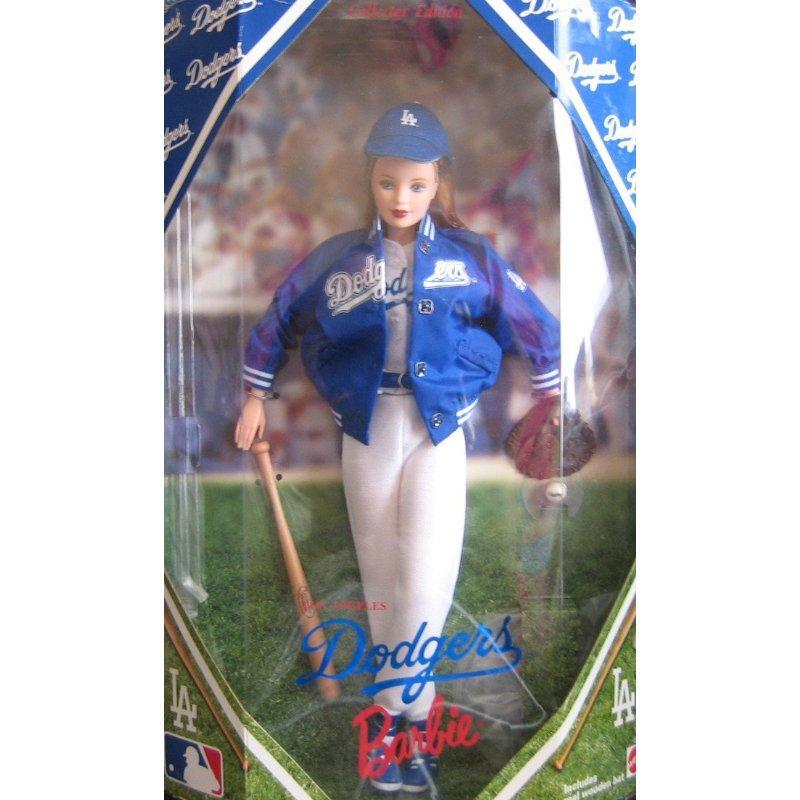 Mattel Barbie Los Angeles Dodgers