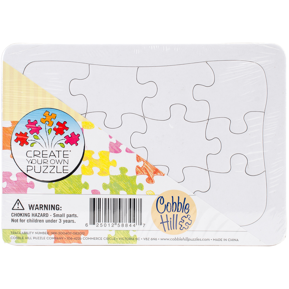 create your own postcard size puzzle 7 x5
