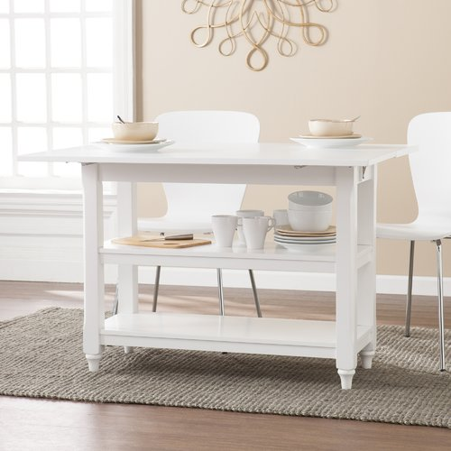 Red Barrel Studio Cherina Convertible Console To Dining Table