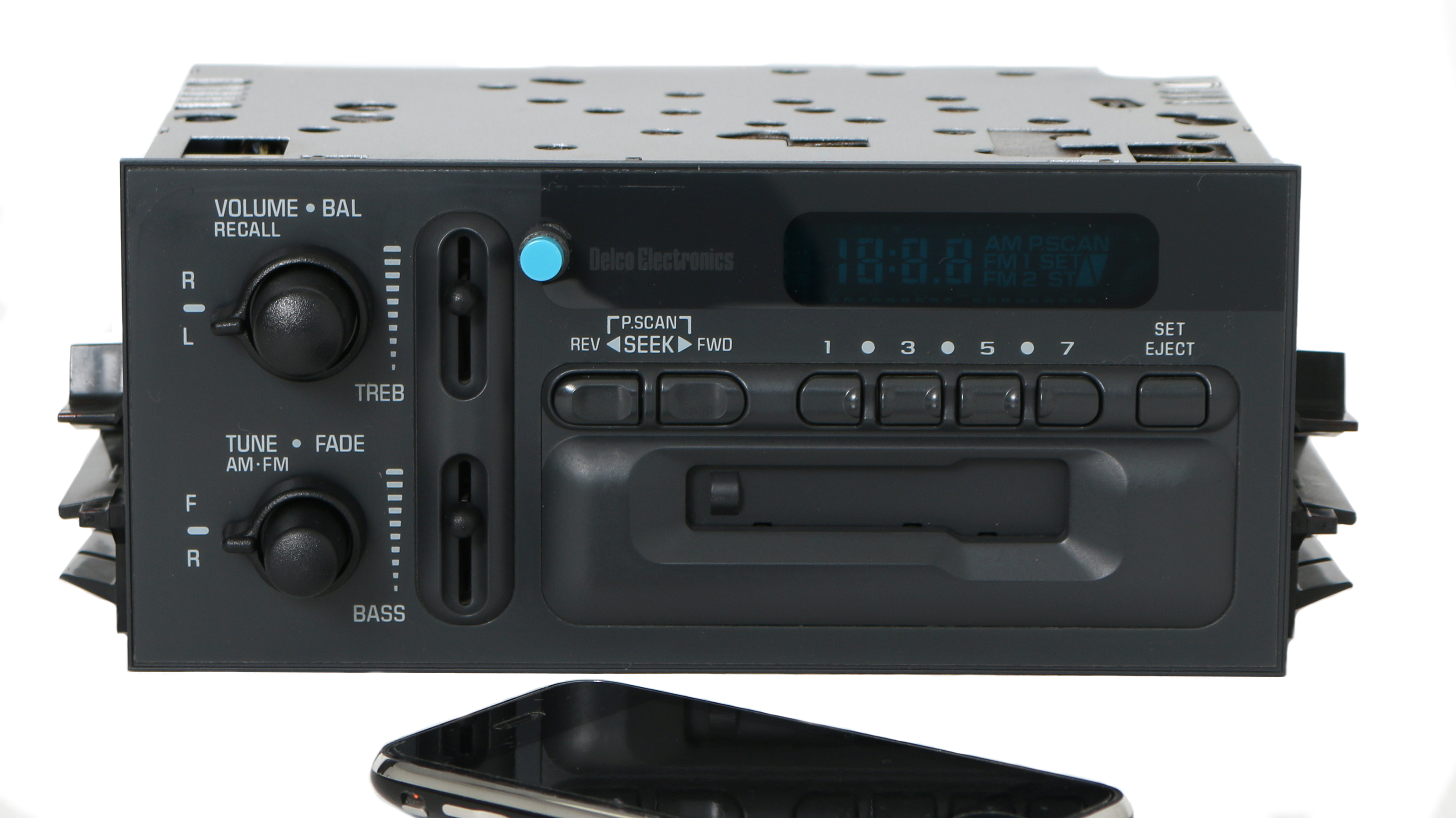 Chevy GMC 95-02 Truck Van Radio AM FM Cassette Player w Bluetooth Music 16180215 Refurbished by GM