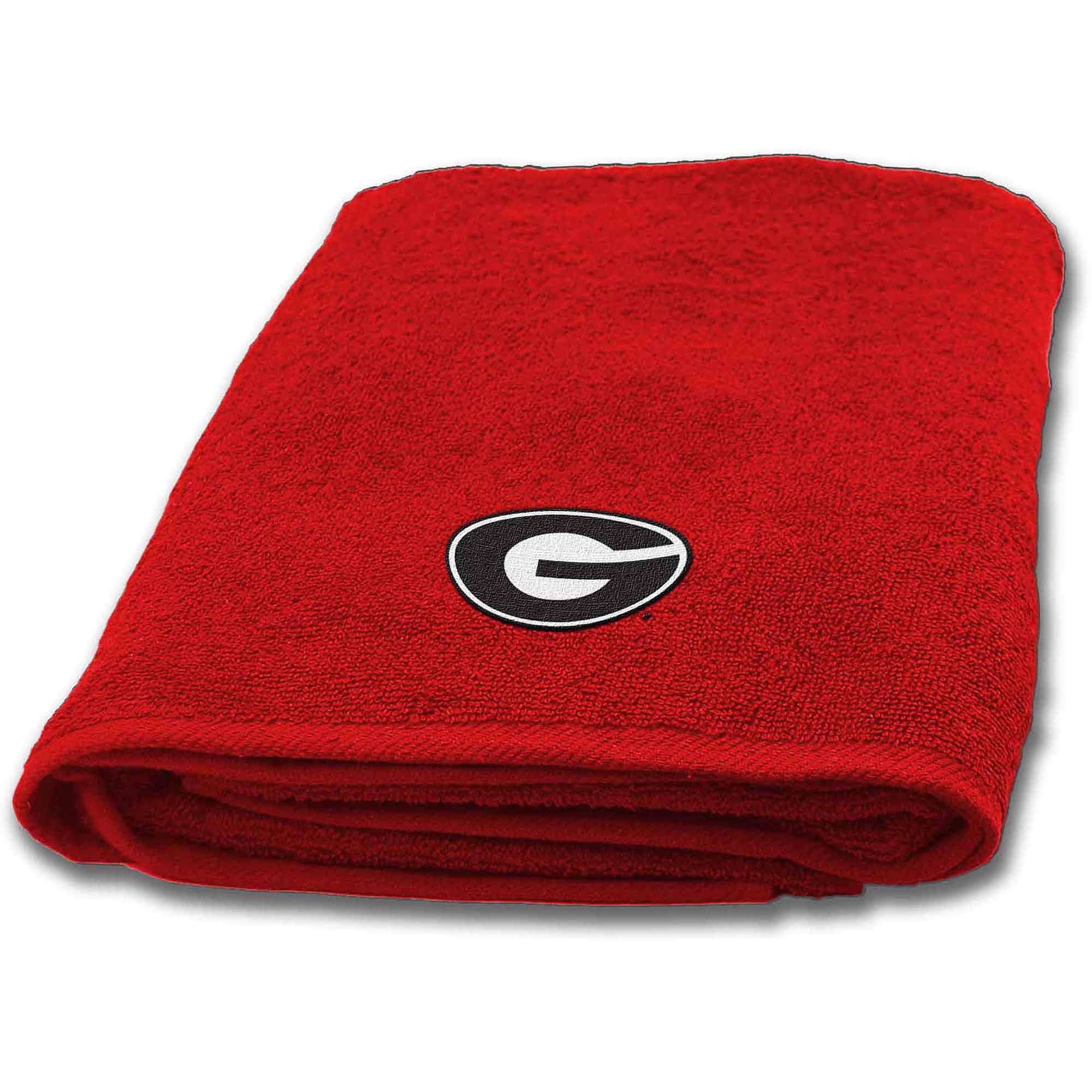 NCAA University of Georgia Bath Towel, 1 Each