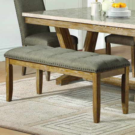 Homelegance Jemez Upholstered Kitchen Bench