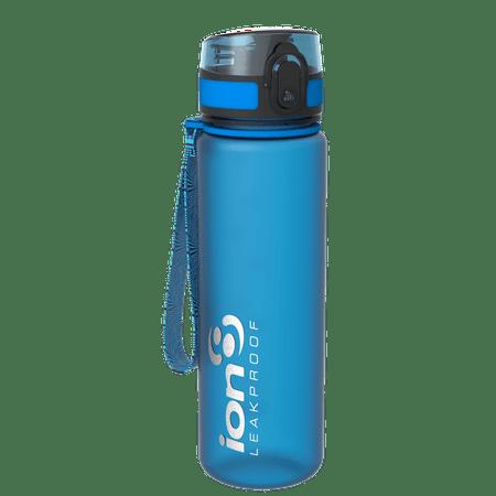 Ion8 Slim Leak Proof BPA Free Water Bottle, 500ml (18 oz), Frosted