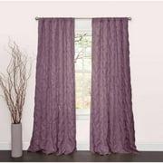 Lake Como Purple Window Curtain