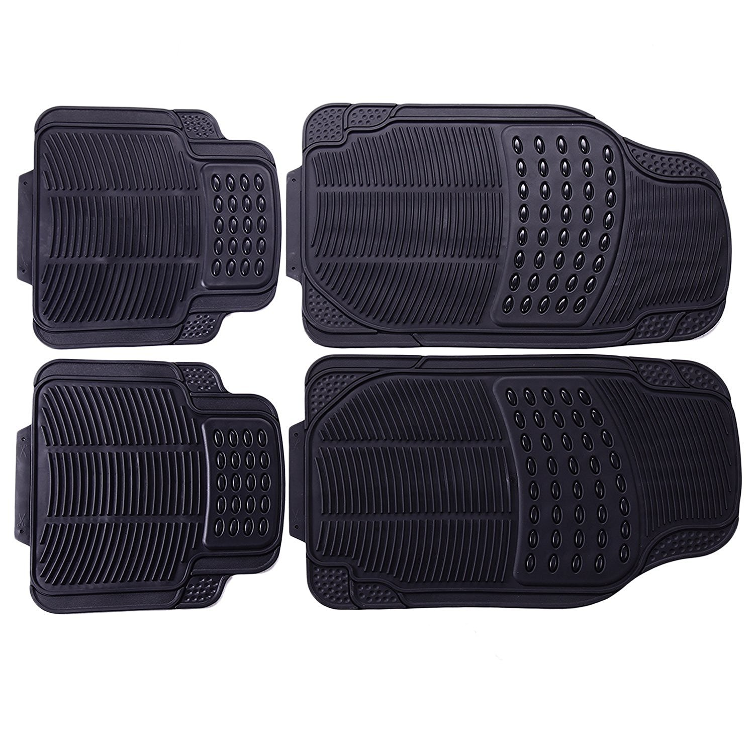 Adeco 4-Piece Car Vehicle Universal Floor Mats