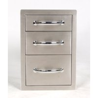 "classic series 14"" flush triple access drawer"