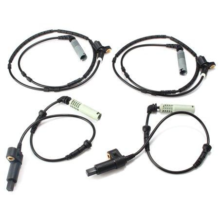 4 Pcs Front Rear ABS Wheel Speed Sensor for BMW 3 Series E46 4 323i 325i 328i 330i