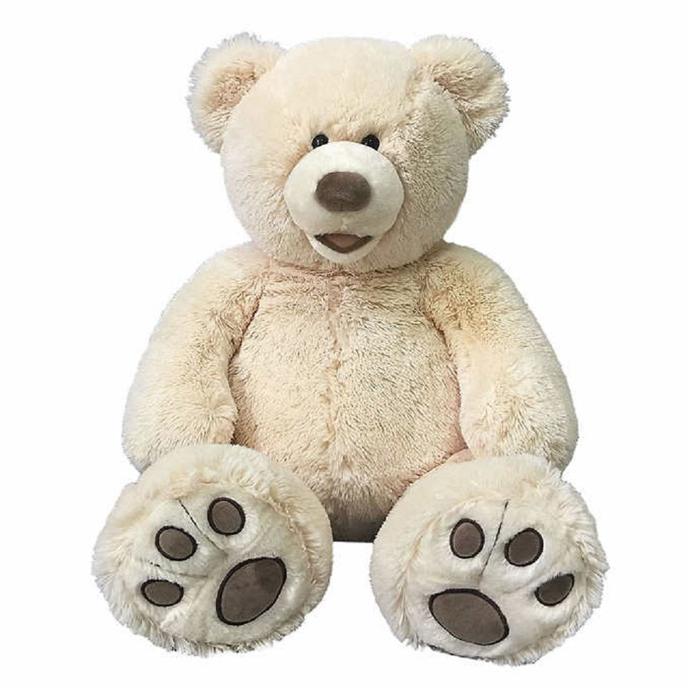 "Hugfun 25"" Plush Teddy Bear Stuffed Animal Tan by Hugfun"
